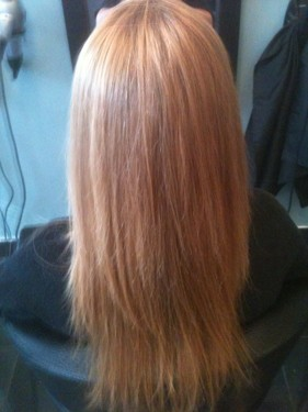 Keratin Brazilian Blow Dry Treatment after
