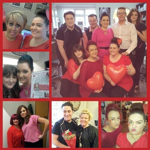 The Salon Durham Hairdressers charity event
