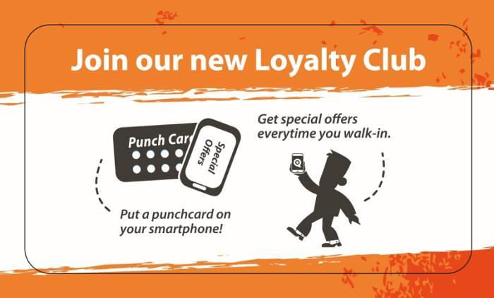 Loyalty Reward Scheme The Salon