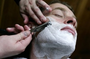 mens wet shaves durham, barbers in durham, mens shave langley park