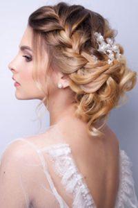 wedding hair at The Salon hair salon Durham