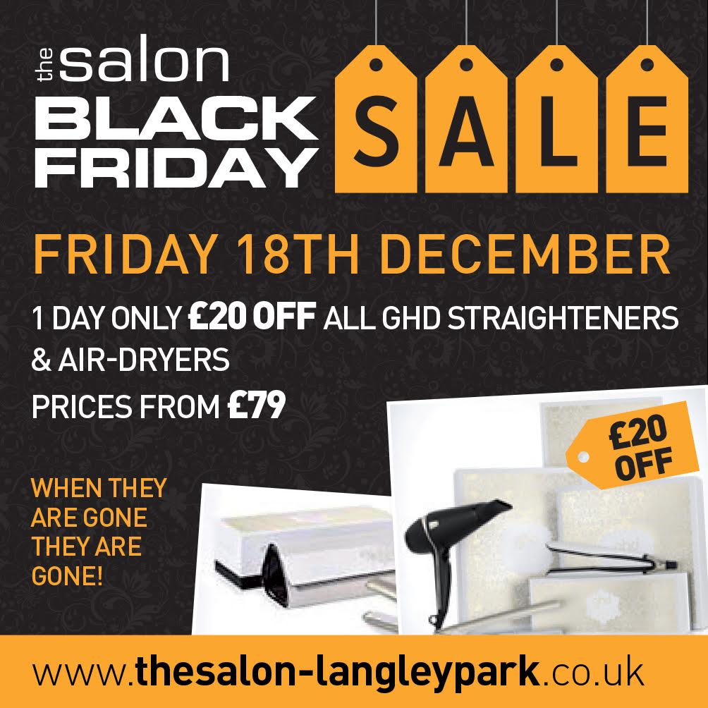 GHD Sale Durham, Black Friday Offers Durham