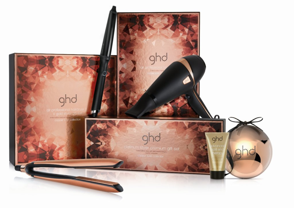 NEW ghd Copper Luxe Christmas Collection