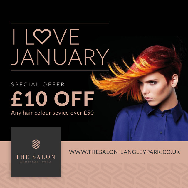 January Hair Colour SALE