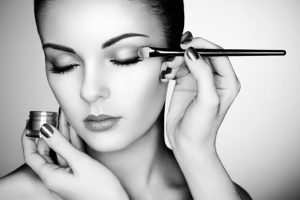 professional make-up application at top beauty salon in Durham