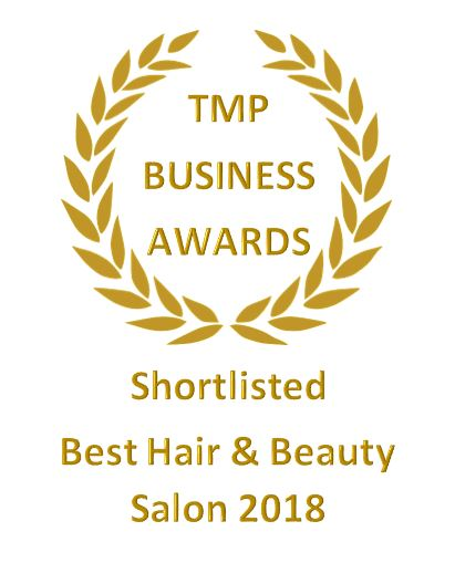 The Salon has been shortlisted for 'Best in Business & Best Hair & Beauty Salon 2018!