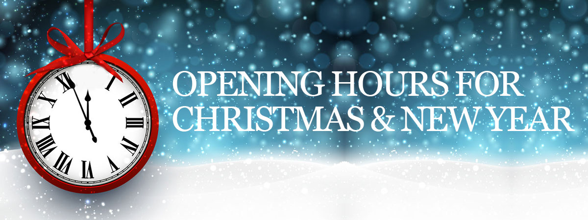 Opening-Hours-For-Christmas-&-New-Yearat the salon langley park, durham
