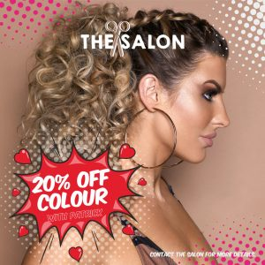 hair colour offer at the salon, langley park durham