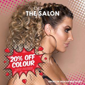hair colour offer at the salon, langley park durham