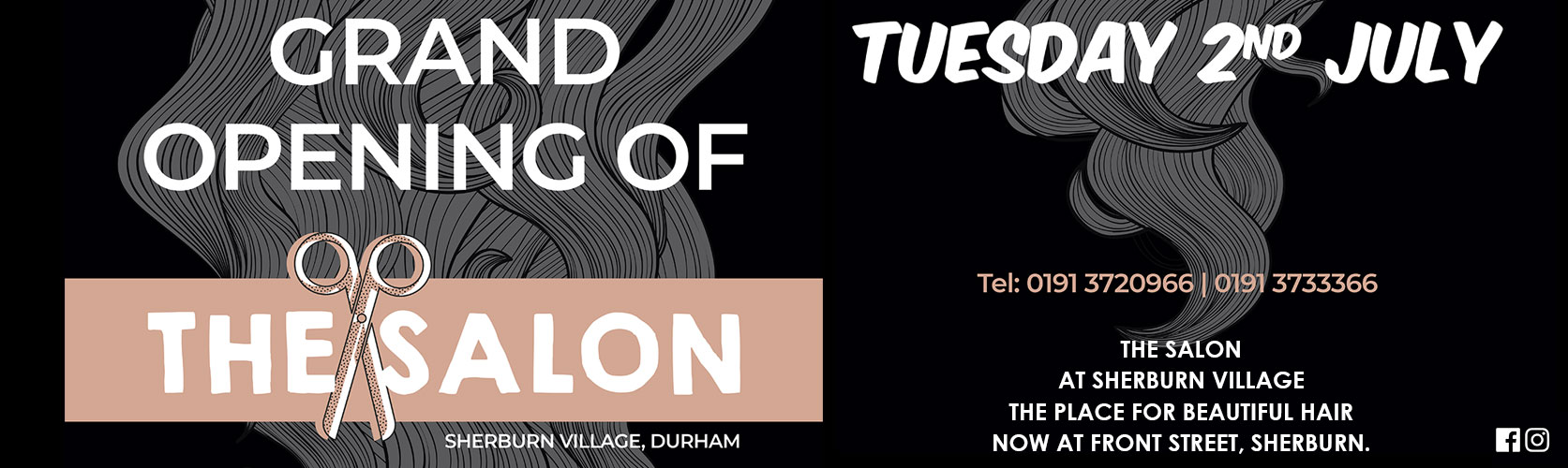 The Salon Sherburn Village, Durham is Now Open!
