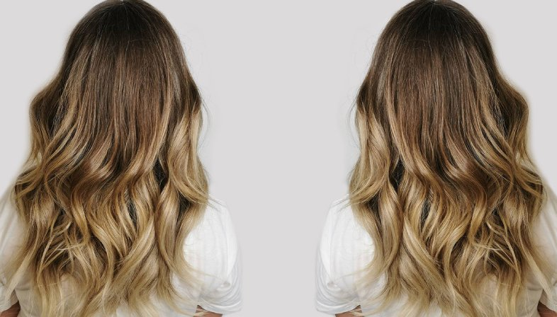 Beautiful balayage hair colours for blondes, brunettes & red heads at The Salon, Langley Park.