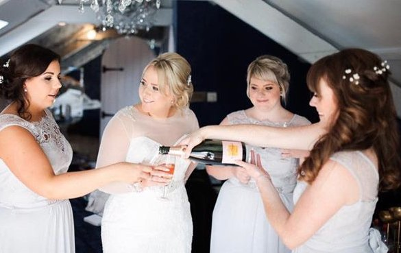 Modern & traditional hairstyles for brides in Durham at The Salon, Langley Park.