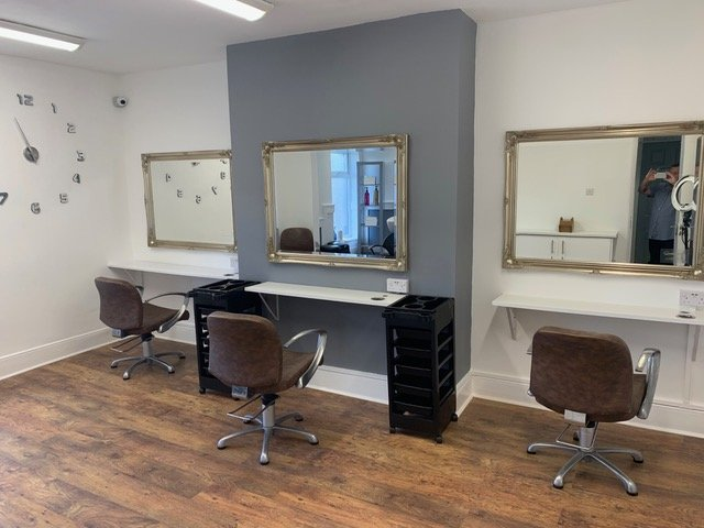 the best hairdressers in Durhan at the salon, langley park
