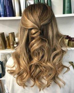 Wavey Hair Cuts & Styles at The Salon, Langley Park & Sherburn Village in Durham