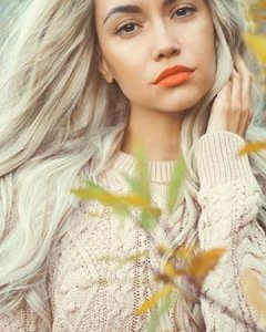 Silver-Grey hair colours at The Salon hairdressers, Langley Park