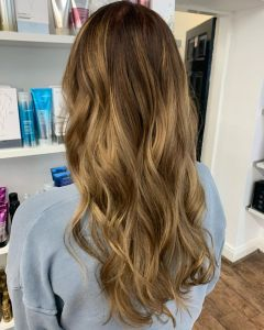 On trend Balayage Hair Colour At The Salon, Langley Park in Durham