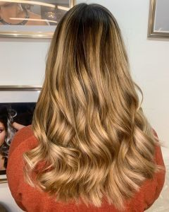 Ladies Balayage Hair Colour At The Salon, Langley Park in Durham