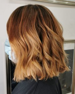 fix brassy tones in blonde hair with the expert stylists at The Salon, Durham