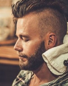 The-Slick-Back-Beard-Combo-men´s-hairstyle's at The Salon, Durham